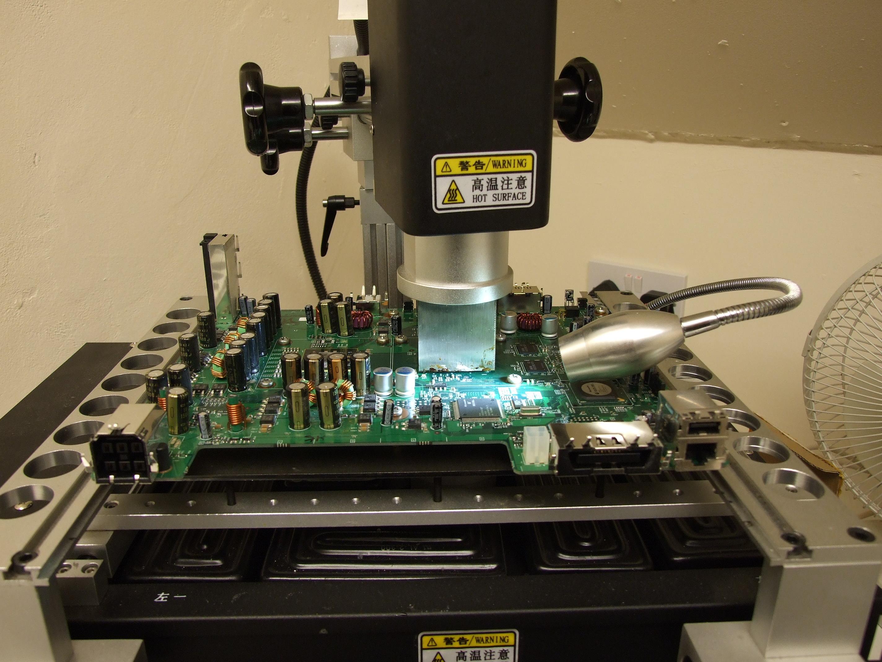 Console Repair Xbox 360 Gpu Reflow