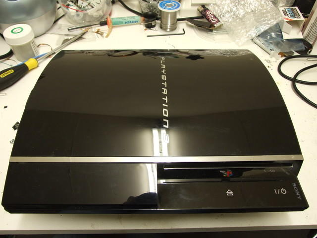 1 - The PS3 before repair